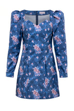 Load image into Gallery viewer, Roses Dress - Blue