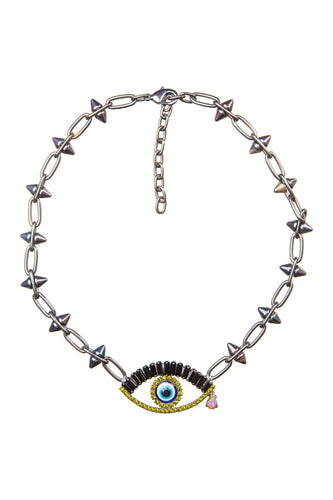 Eye Choker Necklace