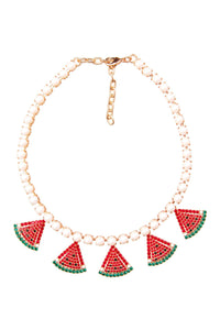 Watermelons Choker Necklace