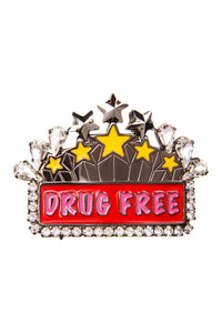 Drug Free Brooch