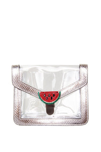Watermelon Crystal PVC Bag