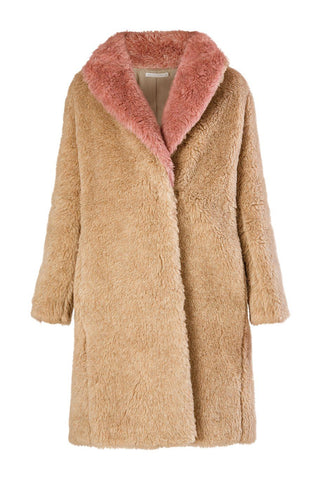 Alpaca Shawl Collar Coat