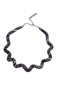 Zebra Twist Necklace