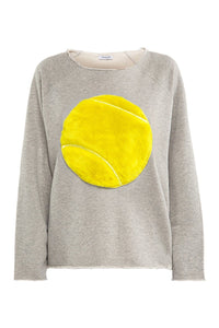 Maxine Tennis Ball Sweatshirt - Yellow