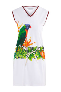 Jill Tropical Tennis Dress