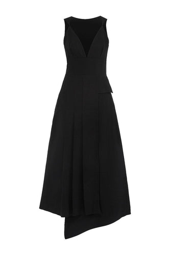 Asymmetric Señorita Dress
