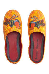 Bird of Paradise Slippers