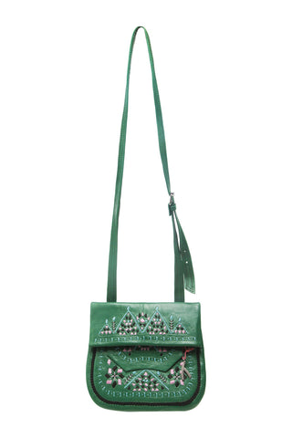 Berber Shoulder Bag - Green