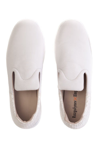 Rubber Sole Loafers