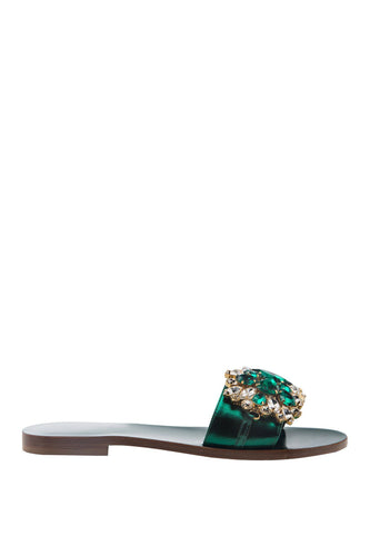 Crystal Slides - Green