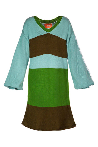Earth and Sky Sweater Dress