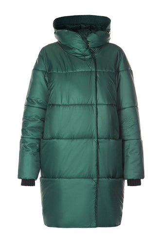Diana Cocoon Coat - Green