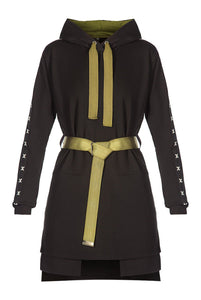 Hoody Dress - Black