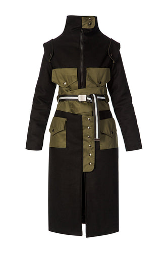 Convertible Coat - Black