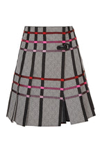 Load image into Gallery viewer, Pleated Kilt Skirt - Plaid