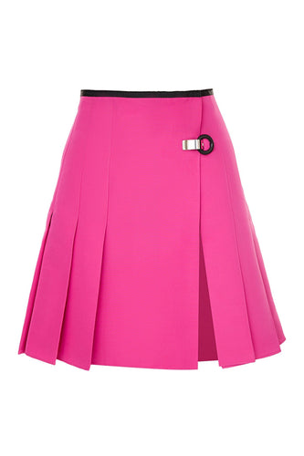 Pleated Kilt Skirt - Pink