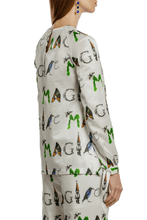 Load image into Gallery viewer, MAGIC Print Bow Cuff Blouse