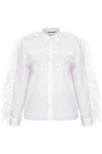 White Feather Shirt