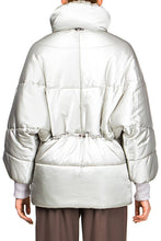 Load image into Gallery viewer, Kimono Puffer Jacket - Silver