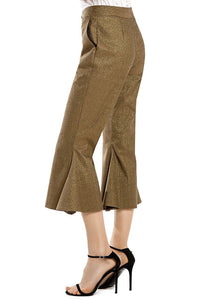 Wide Flare Cropped Pants