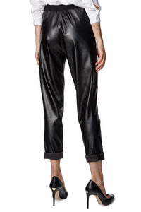 Slim Eco-Leather Pants