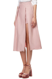 Reverse Pleat Skirt