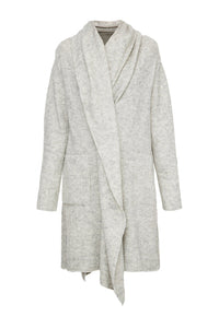 Long Zip Cardigan