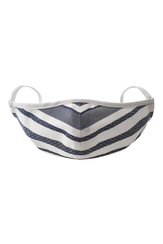 Fashion Face Mask - Denim Stripe