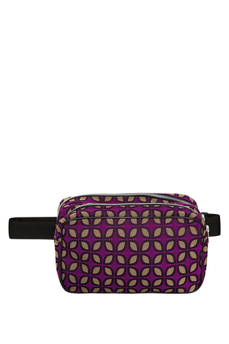 Patterned Belt Bag