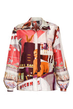 Load image into Gallery viewer, Retro Print Blouse