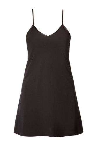 Flared Slip Dress