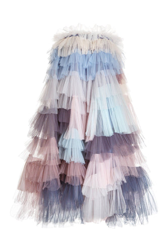 Tulle Patchwork Skirt