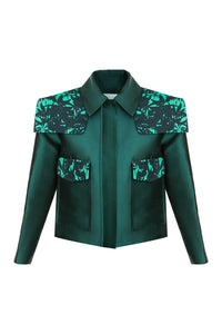 Bold Shoulder Jacket
