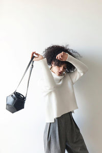 Platonic Handbag - Black