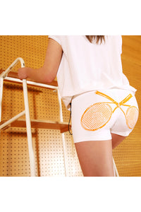 Marie Training Shorts - White