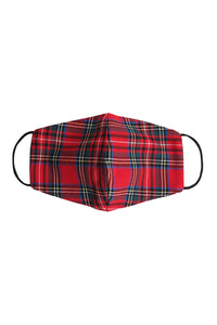 Winter Plaid Mask