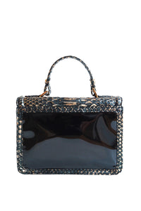 Patent Python Top Handle Envelope Bag
