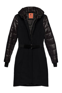 Vera Tailored Coat — Black