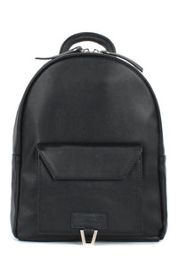 Vendi S Eco Leather Front Pocket Backpack
