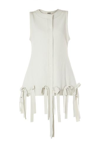 Bow Ribbed Vest