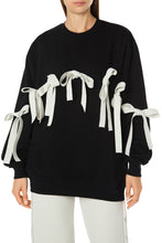 Load image into Gallery viewer, Bow Cotton Sweatshirt