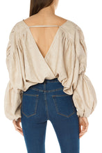 Load image into Gallery viewer, Cocoon Crop Top - Beige