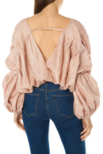 Load image into Gallery viewer, Cocoon Crop Top - Peach