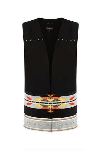 Decorative Trim Vest