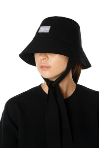 Tie Bucket Hat - Black