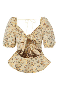 Floral Butterfly Blouse