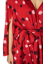 Load image into Gallery viewer, Dot Wrap Dress