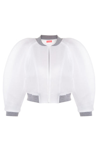 Mesh Bubble Track Jacket