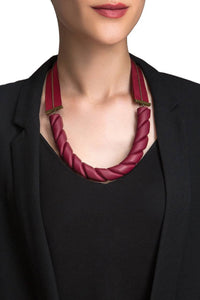 Ribbon Twist Necklace