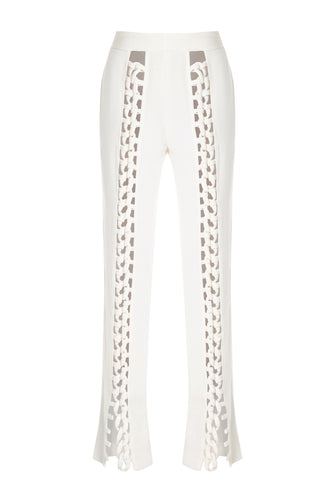 Chain Link Trim Pants